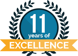 11 years of excellence