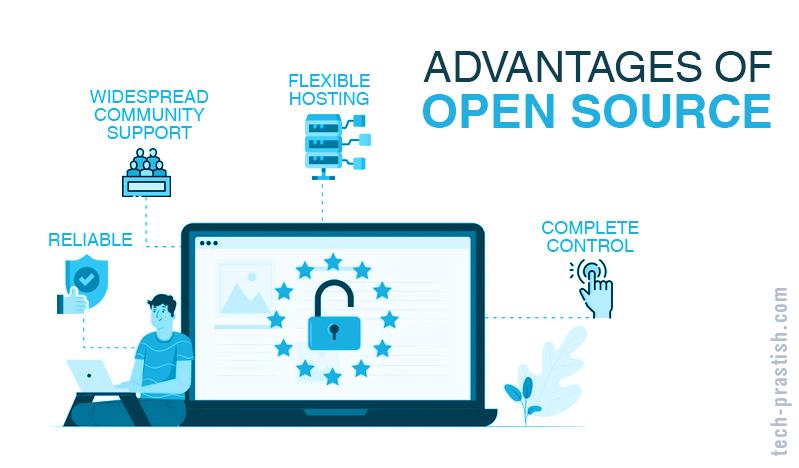 Advantages of open source